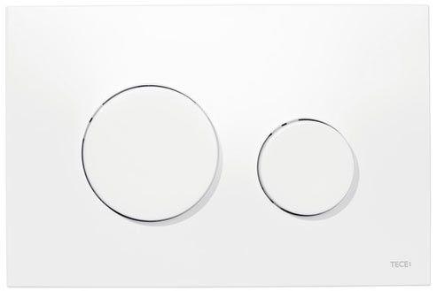 Tece Loop betätigungsplatte aus Kunststoff, weiss