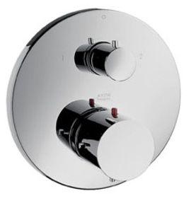 Hansgrohe Sichtteil Thermostat Philippe Starck mit Absperrung und Umstellung verchromt, 10720