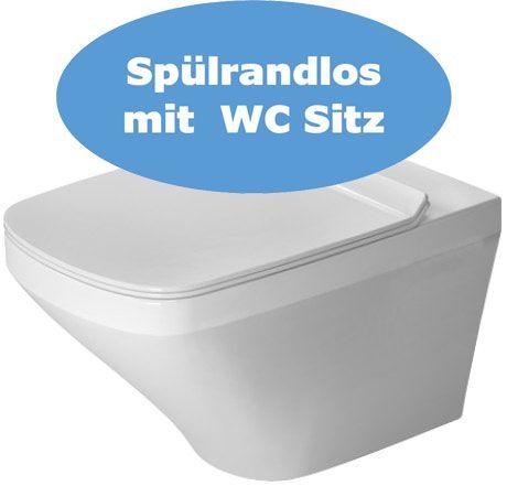 Duravit Wand WC Set Durastyle spülrandlos