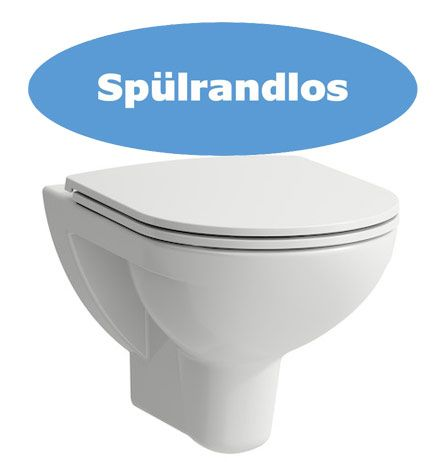 Laufen 2096.0 spülrandloses Wand WC
