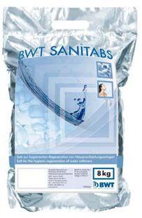 BWT Sanitabs Hygiene Regeneriersalz 8 kg