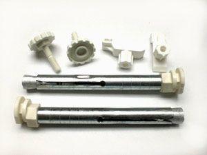 Kompakt-Heizkörper-Aufhängung Nr.91 für .Rohbau Bohrkonsole 18x160 mm