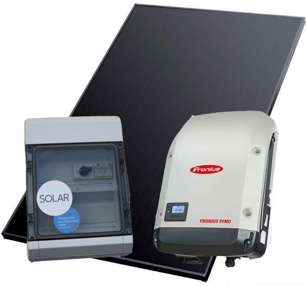PV Set 6.0 KWp Kioto mit Sonnenkraft Freischaltbox und Wechselrichter Fronius