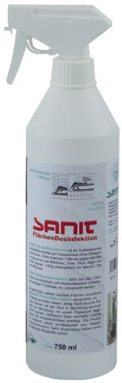 Flächen-Desinfektion 750 ml Flasche