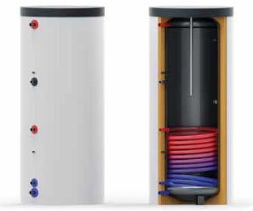 Warmwasser Registerspeicher 500 Liter