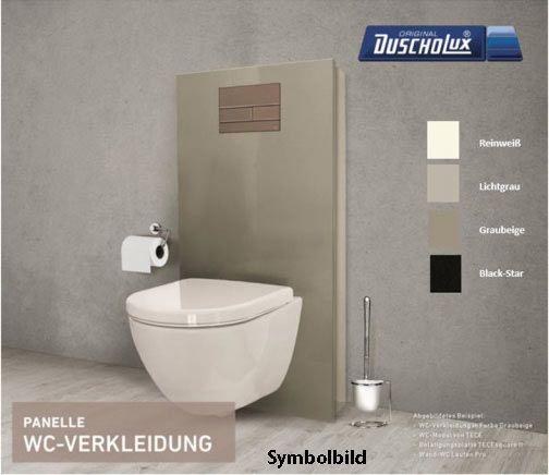 """WC-Komplett-Set """"Aus alt mach neu"""" zum schnellen Umbau von Stand-auf Wand-WC"""