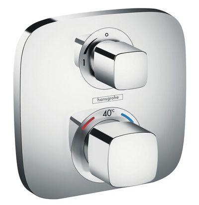 Hansgrohe Sichtteil Thermostat Ecostat E 1 Verbraucher, verchromt 15707
