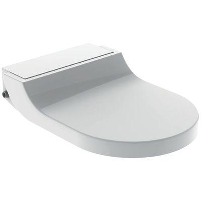 Geberit AquaClean Tuma Comfort Dusch WC Sitz weiss zum Nachrüsten mit Fernbedienung! 146.270