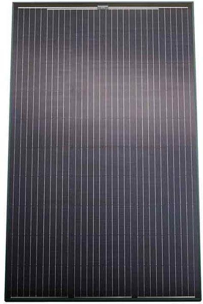 Vaillant Photovoltaik Modul silberner Rahmen 325 Wp Ansicht Front