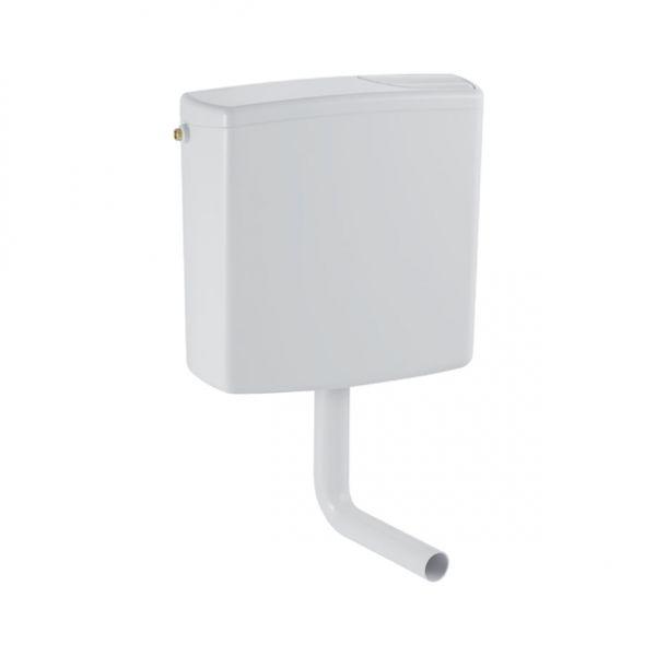 Geberit 140333 Spülkasten-wandhängend 2-Mengen,Kunststoff weiß